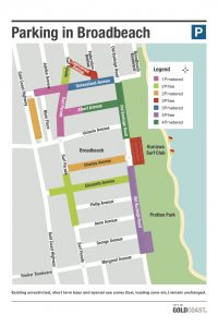 BROADBEACH PARKING MAP GCCC