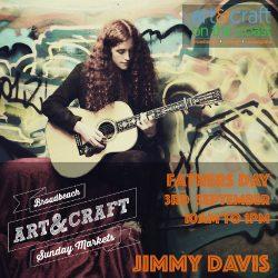 Jimmy Davis 3 september Broadbeach